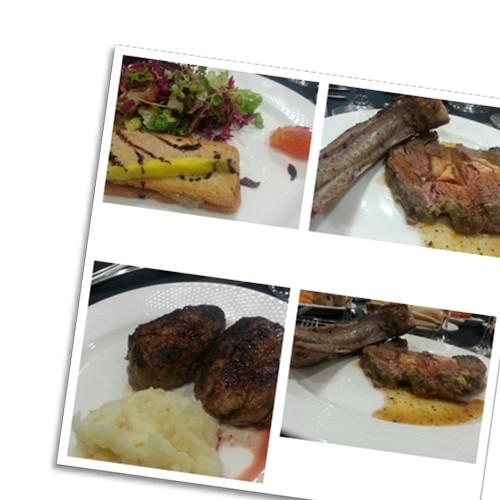 ארוחת ערב בשרית מאד