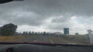 גשם ברמת הגולן